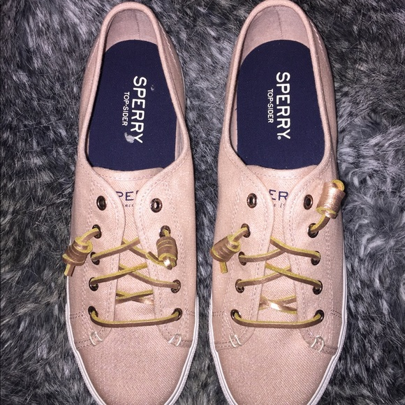 a6bbedcc30 Sperry Top-Sider Shoes | Sperry Sky Sail Metallic Twill Sneaker ...